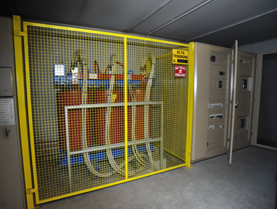 Impianto elettrico giallo